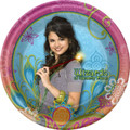 Wizards of Waverly Place Large 9 Inch Round Lunch Dinner Plates