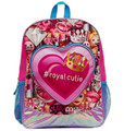 "Emoji 16 Inch Large Backpack - "" Royal Cutie """