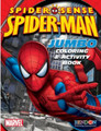 Spiderman Jumbo 96 pg. Coloring and Activity Book - Web Shot