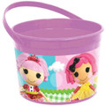 Lalaloopsy Plastic Favor Bucket Container ( 1pc )