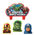 Avengers Assemble 4 Piece Molded Candle