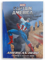 "Captain America Jumbo 96 pg. Coloring and Activity Book - ""American Hero"""