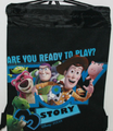 Drawstring Bag - Toy Story 3 Black String Bag
