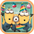Despicable Me Square 9 Inch Lunch Dinner Plates