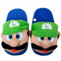 Luigi Plush Slippers Size 7-8
