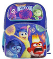 """Inside Out Large 16"""" Cloth Backpack - Blue"""