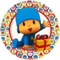 Pocoyo Small Round 7 Inch Dessert Party Cake Plates