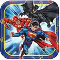 Justice League Small 7  Inch Party Cake Dessert Plate