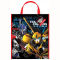 Transformers Prime Plastic Party Tote Bag