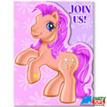 My Little Pony Pack of 8 Invitations Invitations