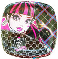 Monster High Small 7 Inch Party Cake Dessert Plates - Pocket Plate