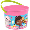 Doc McStuffins Plastic Favor Bucket Container ( 1pc )