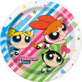 Power Puff Girls Large 9 Inch Paper Plate