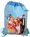 Drawstring Bag - High School Musical Light Blue Cloth String Bag