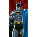 Batman Plastic Tablecover Table Cover - Red