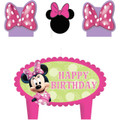 Minnie Mouse 4 Piece Molded Candle - Bow-tique