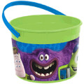 Monsters University Plastic Favor Bucket Container ( 1pc )