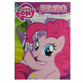 My Little Pony Jumbo 96 pg. Coloring And Activity Book - Pinkie Pie