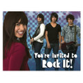 Camp Rock Pack of 8 Invitations