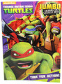 Teenage Mutant Ninja Turtles 96 pg Coloring and Activity Book - Time for Action
