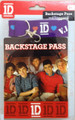 One Direction 1D Backstage Pass Lanyard Necklace