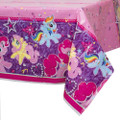My Little Pony Plastic Tablecover Table Cover - Purple