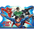 Justice League Pack of 8 Postcard Invitations