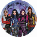 Descendants 7 Inch Small Party Cake Dessert Plates