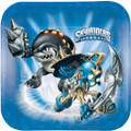 Skylanders Small Square 7 Inch Party Cake Dessert Plates