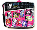 Monster High Large Messenger Cloth Sling Book Bag Pack - Faces