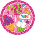 Sweet Shop Small 7 Inch Party Cake Dessert Plates
