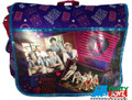 One Direction 1D Cloth Messenger Bag Backpack School Purple