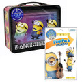 Despicable Me 3 Minions XL Carry All Large Tin Lunch Box With Play Pack