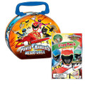 Power Rangers MegaForce Round Tin with Play Pack
