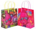 Trolls Pack of 12 Party Favor Reusable Medium Plastic Gift Goodie Bags 8in
