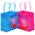 Peppa Pig Party Favor Goodie Small Gift Bags 12