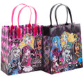 Monster High Party Favor Goodie Medium Gift Bags 12