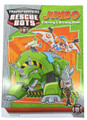 Transformers Rescue Bots 96 pg. Coloring and Activity Book - Green