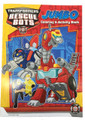 Transformers Rescue Bots 96 pg. Coloring and Activity Book - Red