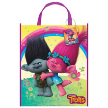 Trolls Party Plastic Tote Bag