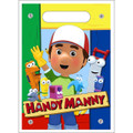 Handy Manny Plastic Loot Bags Favor Sacks Gift