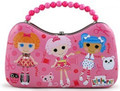 Lalaloopsy Tin Box Carry All Scoop Purse with Beaded Handle - Pink