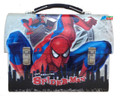 Spiderman Dome Tin Box - Gray