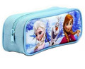 Frozen Princess Anna Elsa Cloth Pencil Case Pencil Box - Blue