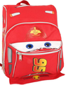 """Cars Lightning McQueen Small Toddler 12"""" Cloth Backpack Bag Pack"""