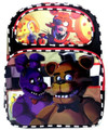 "Five Nights at Freddy's Large 16"" Backpack - Freddy/Bonnie"