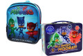 PJ Masks Backpack With Tin Lunch Box Bundle