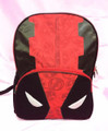 Marvel Deadpool Icon Mask Large Red & Black Backpack
