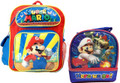Super Mario Toddler Backpack with Lunch Bag