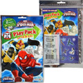 6X Ultimate Spiderman Grab and Go Play Pack Party Favors - Team Heroes (6 Packs)